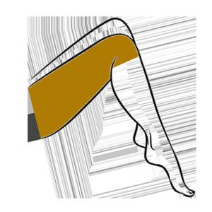 Upper Half Leg Waxing Cork